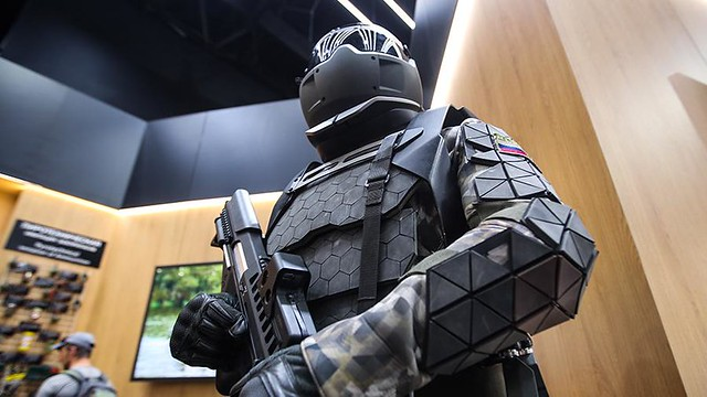 The developer announced the creation in the Russian Federation of an exoskeleton for assault operations