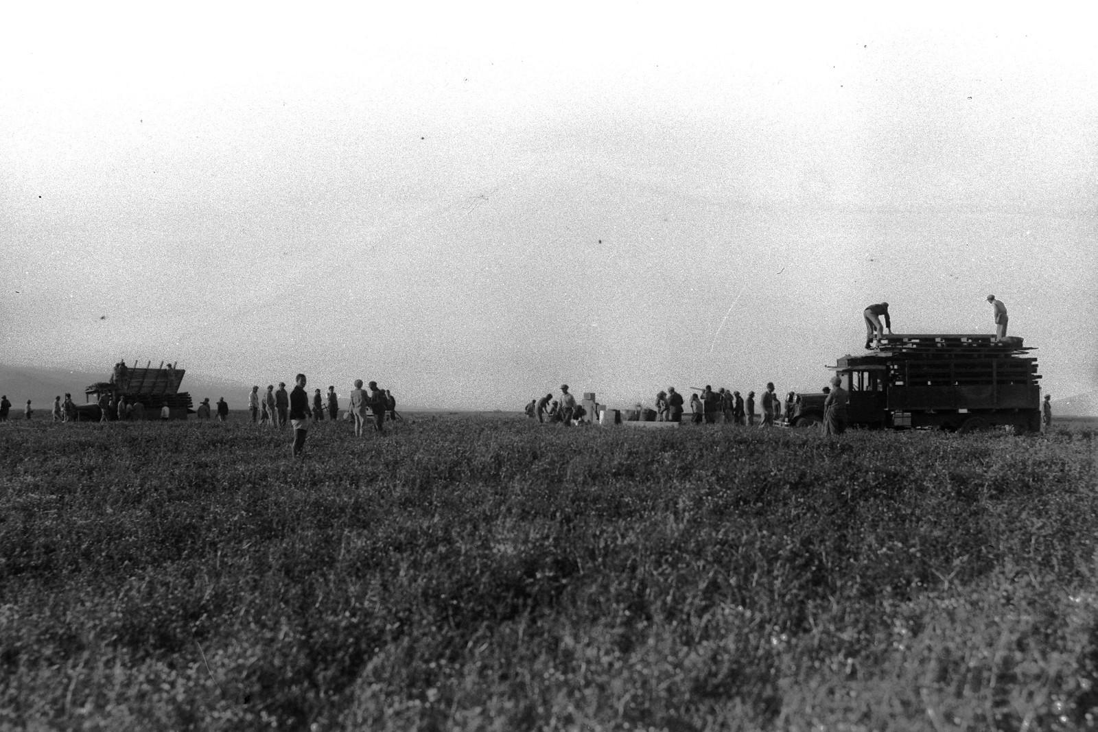 1937. Основание кибуца Шаар-ха-Голан
