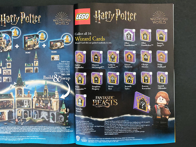 LEGO Harry Potter Wizard Cards