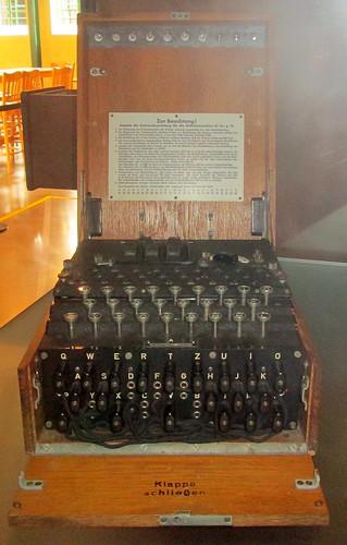 An Enigma Machine, Bletchley Park