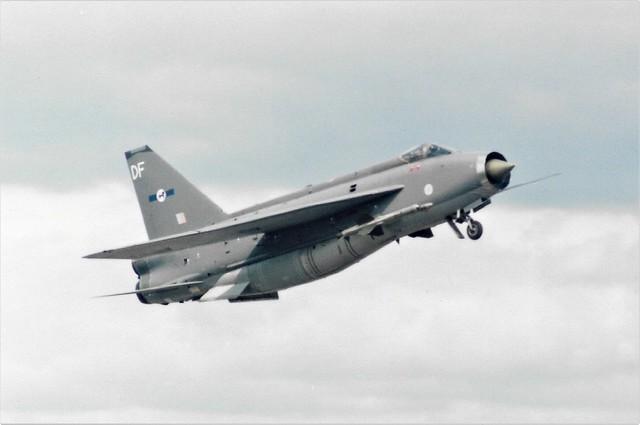 Lightning taking off at Fairford 1985