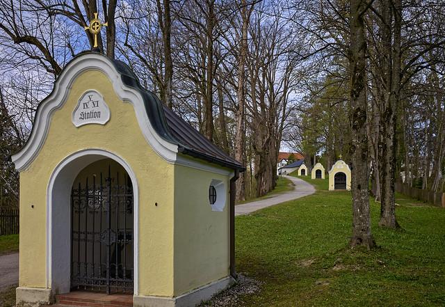 Der Kreuzweg zum Kalvarienberg