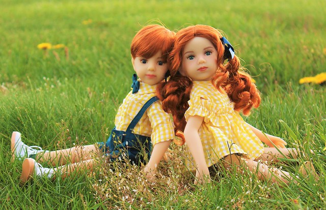 New dolls! Maru and Friends Ash and Joy