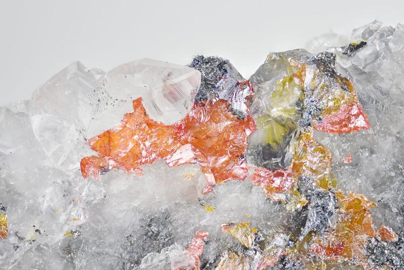 黄粉銀鉱 / Xanthoconite