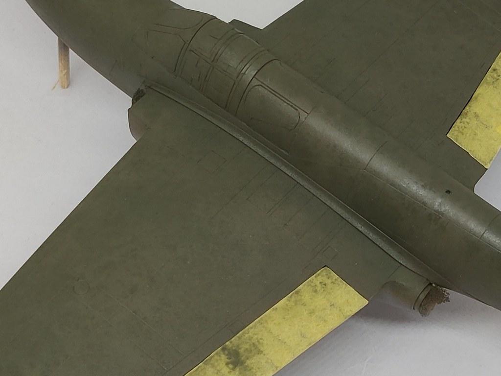 Bell YP-59 Airacomet (Hobbycraft 1:48) 51182045447_4bda02cd0f_b