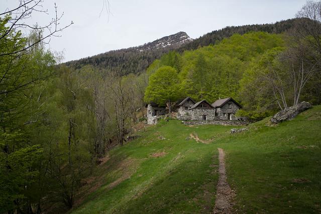 Al Curzótt . Valle del Soladino (TI)