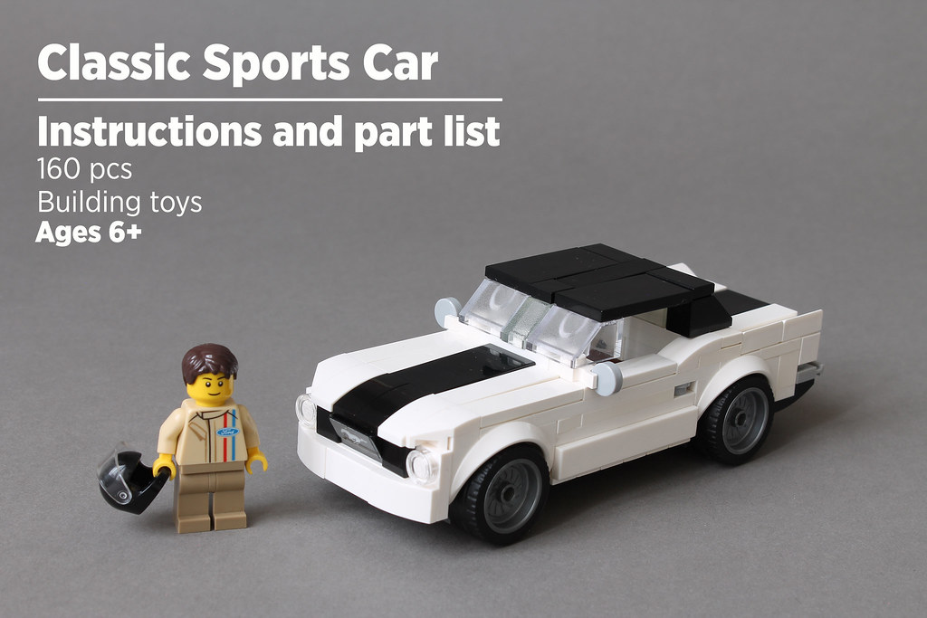 Classic Sports Car | Instructions and part list