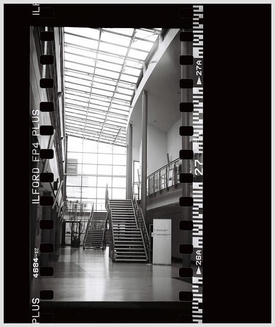 An empty lobby