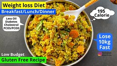 Weightloss recipes in hindi   PCOS/Diabetes Diet Recipes   Gluten Free   Foxtail Millet   Meal Ideas