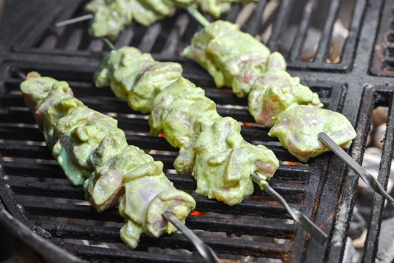 Jalapeño-lime Chicken Skewers