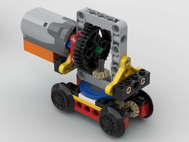 Antrieb für den VT 627