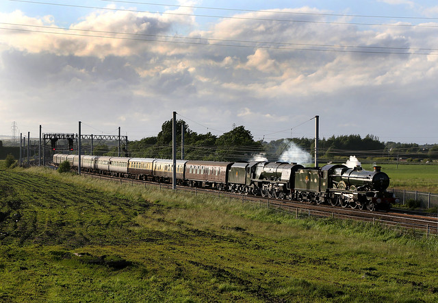The Earl and the Duchess at Winwick. 15.6.13