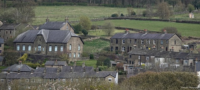 Whaley Bridge. Derbyshire. April 2021