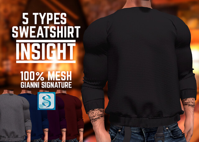 [INSIGHT] Sweatshirt 5 types