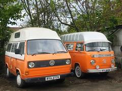 Volkswagen campervans