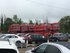 All the old RMs ,out of work since the lock downu2019s ,South Mimms.