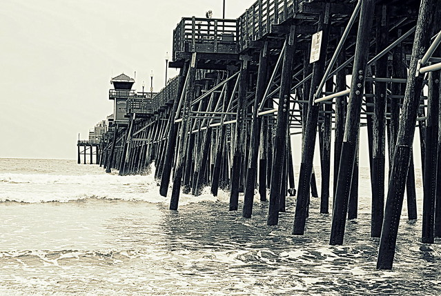 Oceanside Fishing Pier, San Diego County, California
