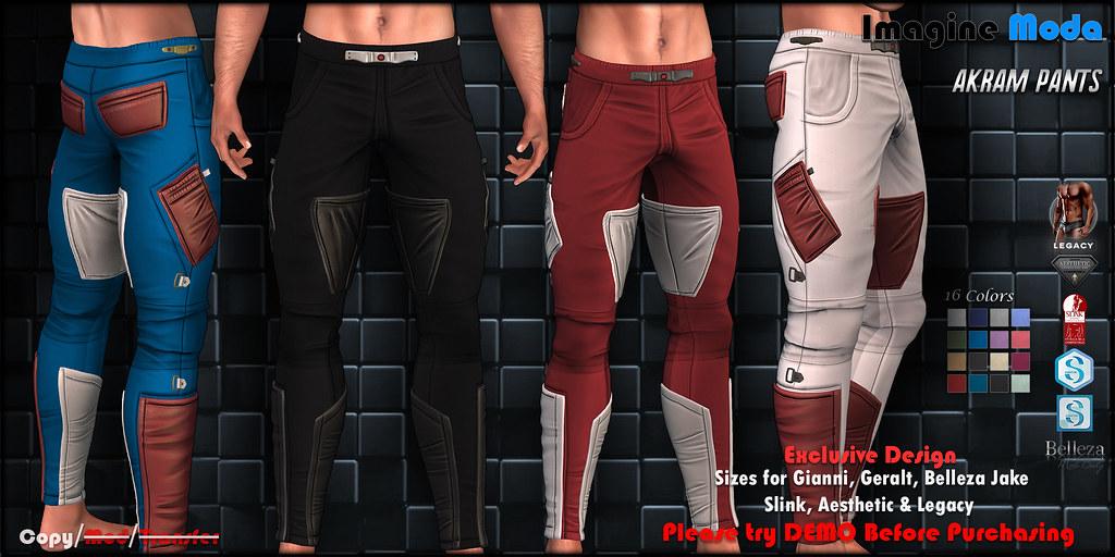 Akram Pants