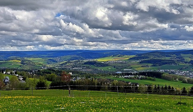 Frühling im Erzgebirge