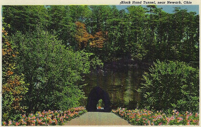 Black Hand Tunnel near Newark, Ohio.