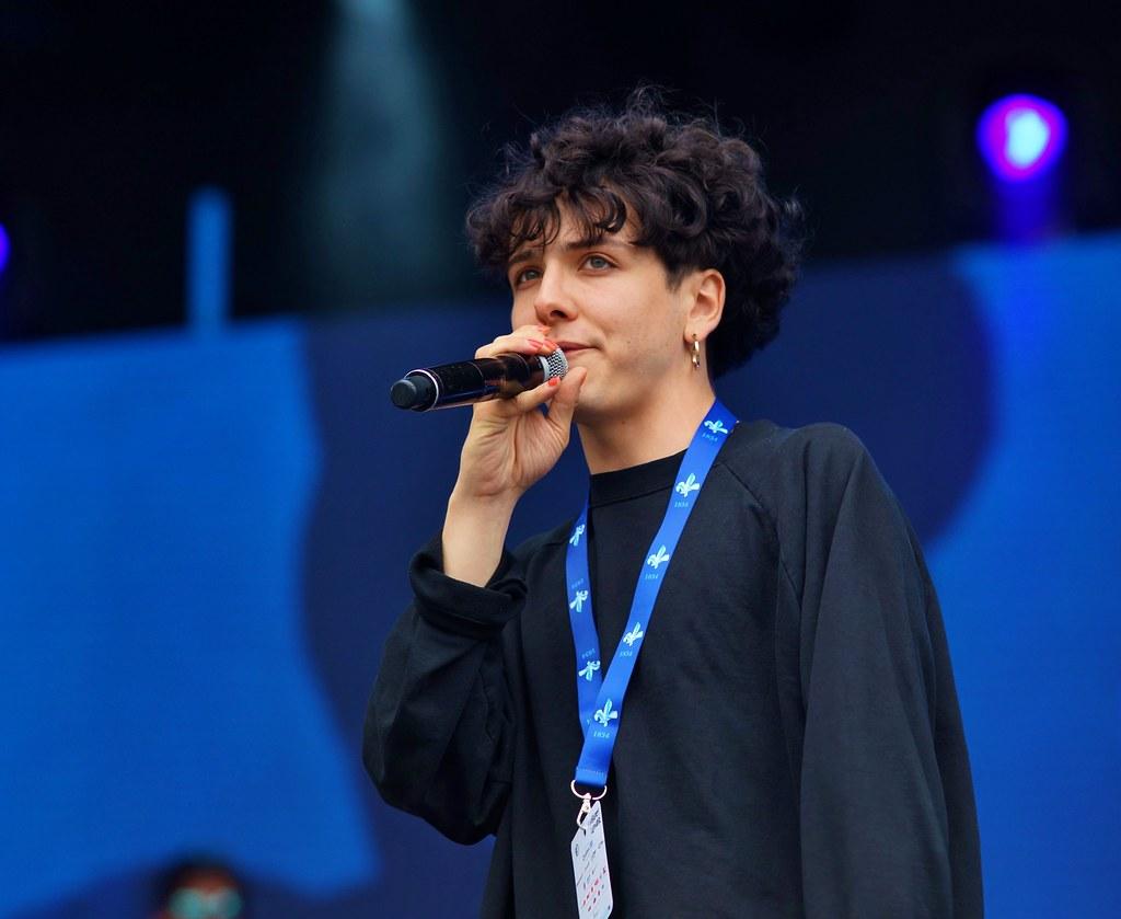 Hubert Lenoir, Répétition, Spectacle Saint-Jean, Place des Festivals, Sony A99, Montréal, 23 juin 2018 (8)