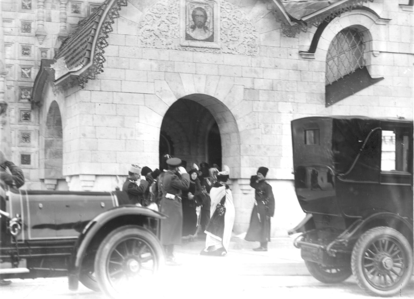 17. 1914. Освящение Феодоровского собора. Отъезд членов царской фамилии.