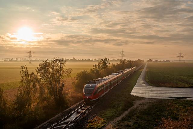 DB Regio_644 048-0/548-9_Nörvenich-Binsfeld 19.10.2020 [Umleiter RE 22 Gerolstein - Köln]