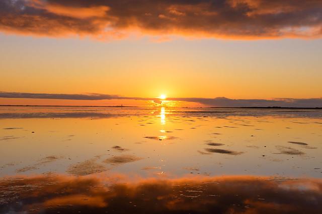 vliehors classic sunset