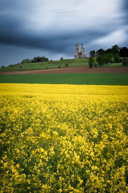 Les collines de l'Artois