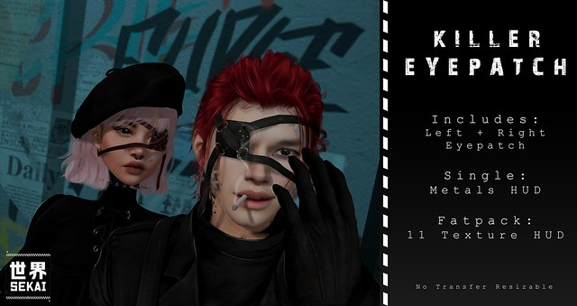 +SEKAI+ Killer Eyepatch - @Mancave Event