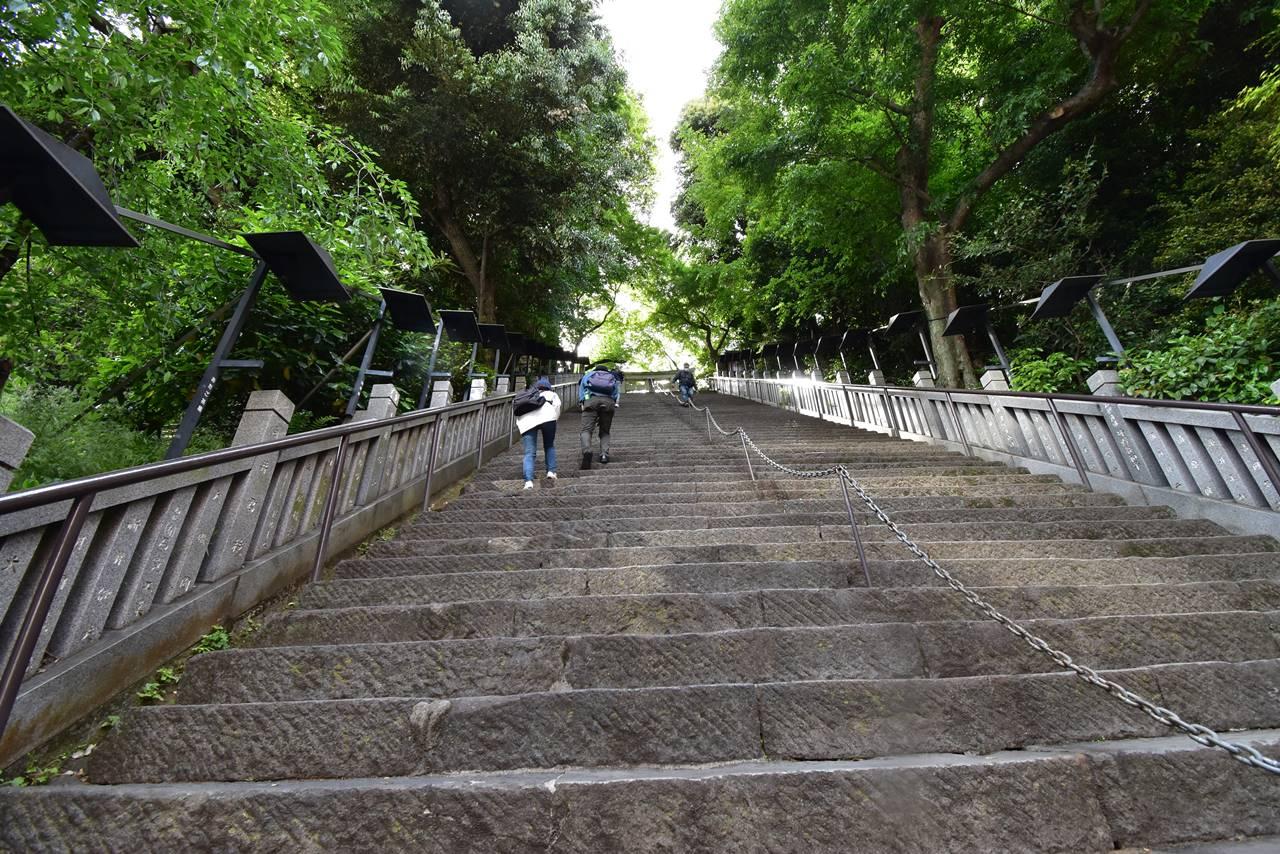 【東京港区】愛宕神社・出世の石段