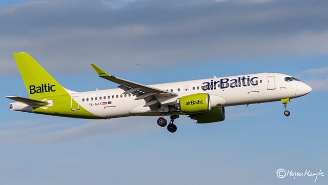 Air Baltic, Airbus A220-300, YL-AAX, 55094, May 16, 2021-2