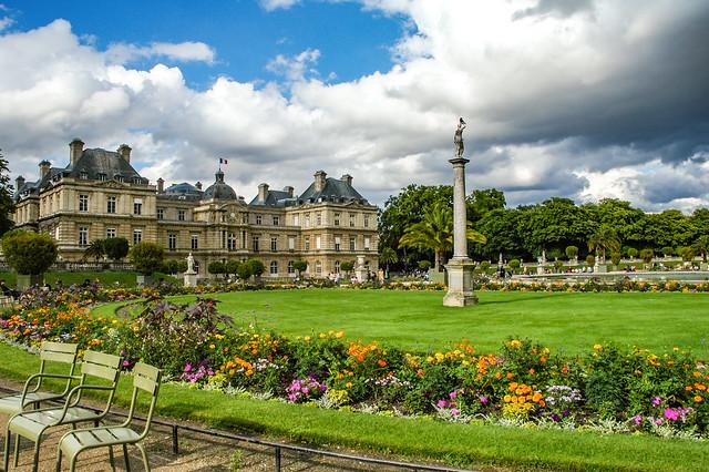 Le palais du Luxembourg, 6e arr. à Paris, Ile-de-France, France