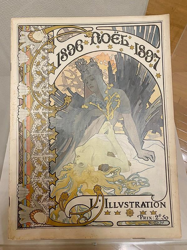 リリュストラシオン 1896-1897 クリスマス号(表紙)