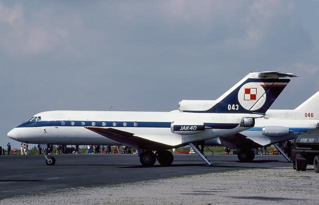 Yak-40 Polish Air Force