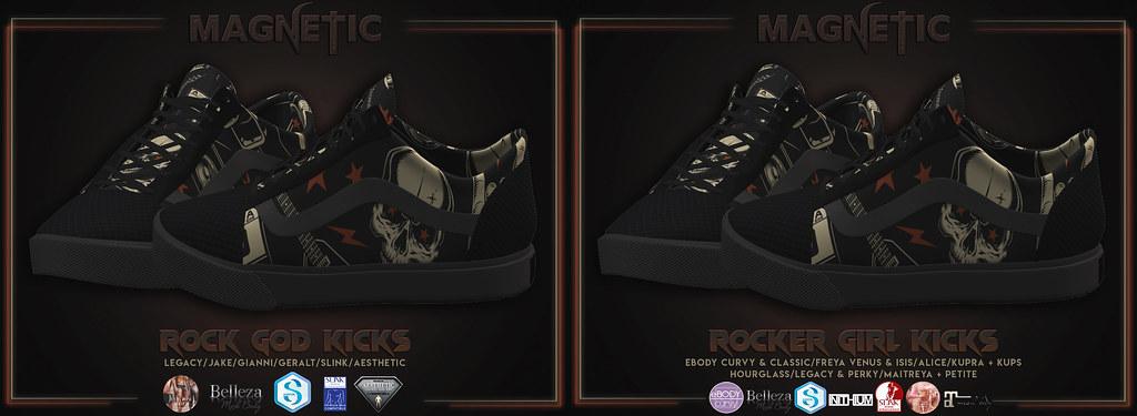 Rock God/Rocker Girl Kicks