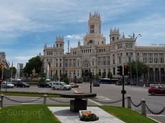 Ayuntamiento de Madrid , palacio de comunicaciones