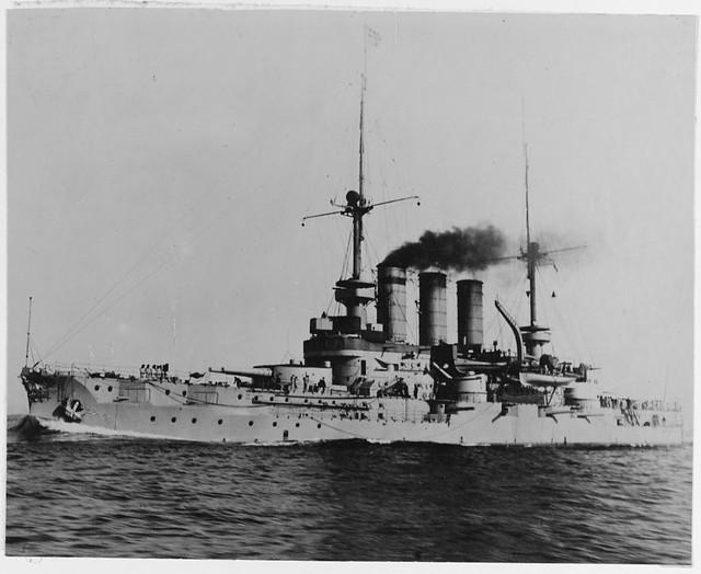 German pre dreadnought Preussen
