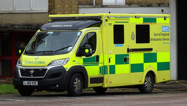 East Of England Ambulance - LJ69 VSE
