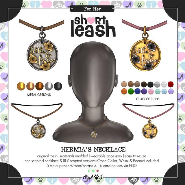 .:Short Leash:. Hermia's Necklace