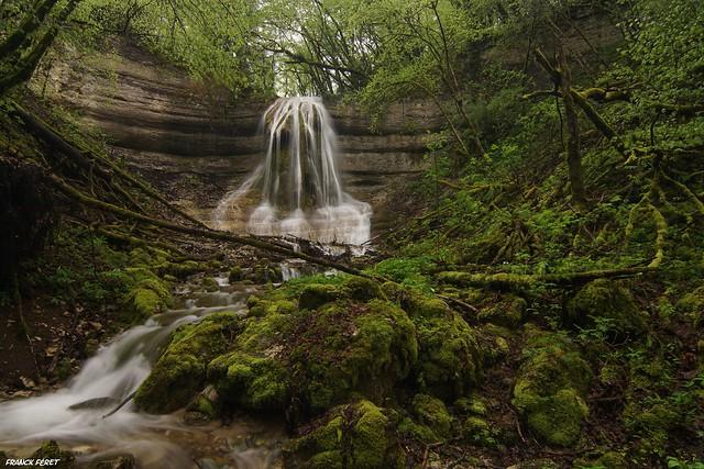 Cascade de l'ermite du Grand Bois - Amancey
