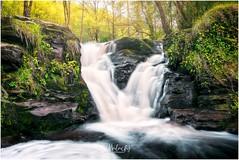 Glenbarrow waterfalls