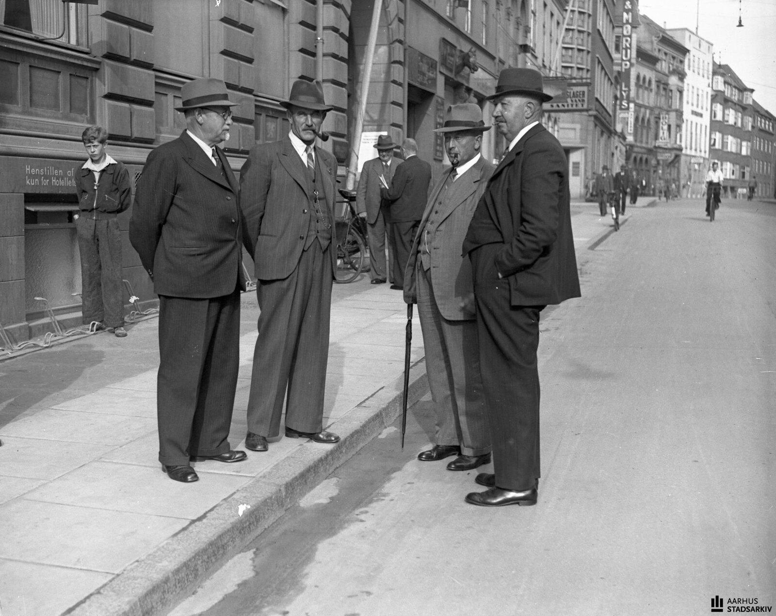 1940. Встреча представителей Молочной ассоциации в Орхусе