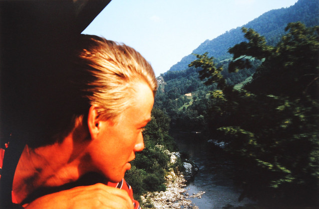 Feeling young and invincible - Interrail 1986, passing through Yugoslavia