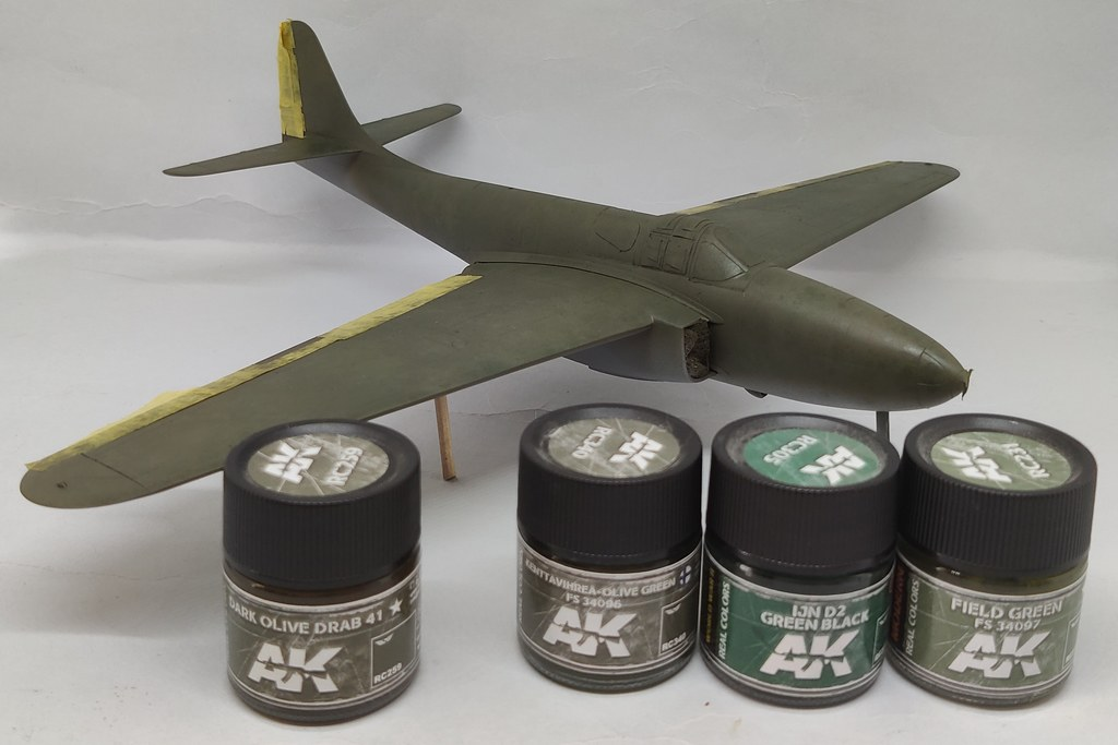 Bell YP-59 Airacomet (Hobbycraft 1:48) 51182947073_ca5545e325_b