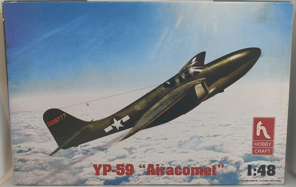 Bell YP-59 Airacomet (Hobbycraft 1:48) 51182974588_38be136ce9_b