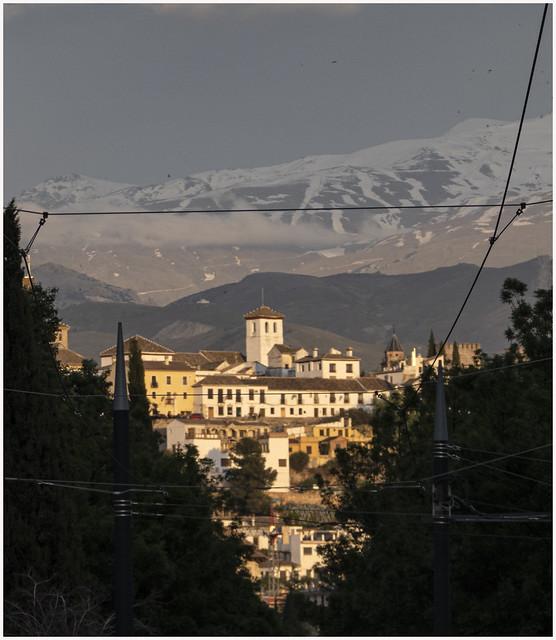 647- SE DESPIDE LA TARDE EN SAN MIGUEL BAJO - GRANADA -