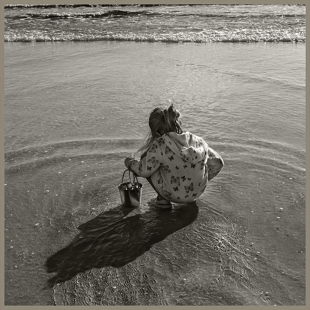 Grand Daughter #9 2021; Beachcomber