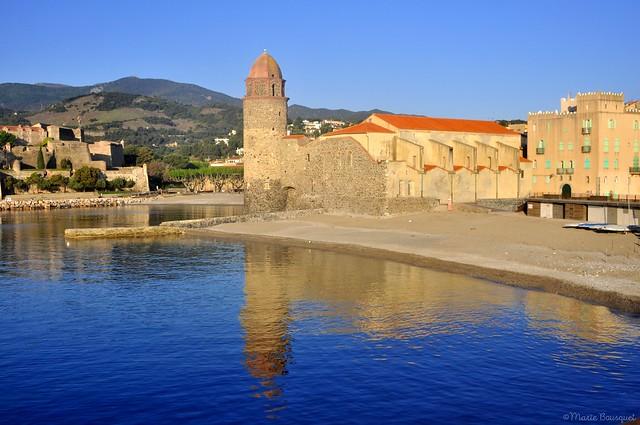 Le célèbre clocher de Notre-Dame des Anges à Collioure
