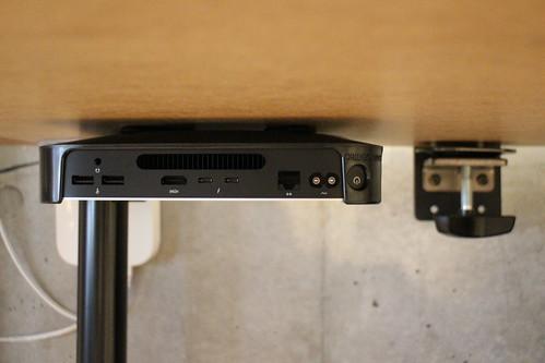 M1 Mac Mini with HumanCentric Mac Mini mount